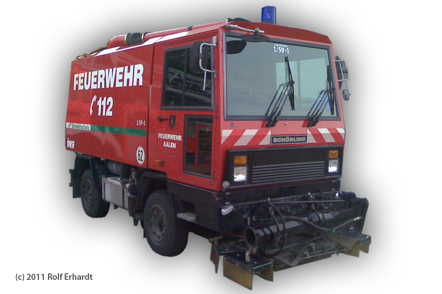 L Wasch Und Saugfahrzeug Wsf 1 A D Feuerwehr Aalen