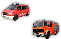 ELW 1 und LF 16/12 Freiwillige Feuerwehr Aalen